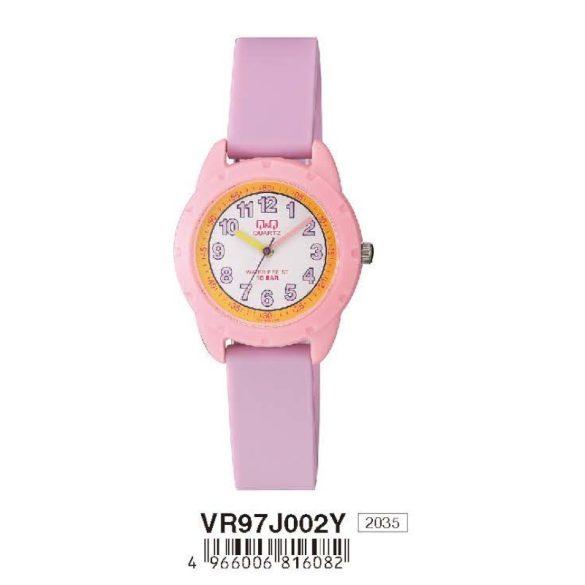 Q&Q gyerek karóra,quartz,lila/rózsaszín színű, VR97J002Y