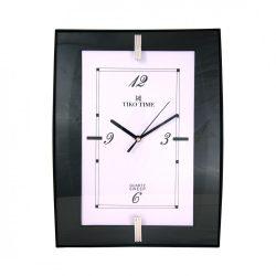Tiko Time falióra,quartz,fekete,sweep