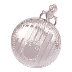 Astron férfi zsebóra, quartz, ezüst színű, római számos